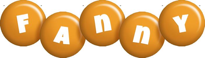 Fanny candy-orange logo