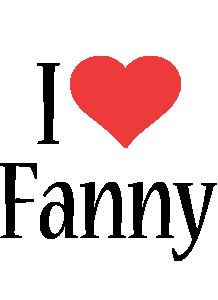 Fanny i-love logo