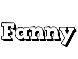 Fanny snowing logo
