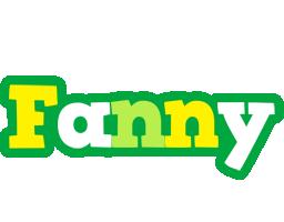 Fanny soccer logo