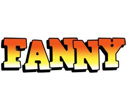 Fanny sunset logo