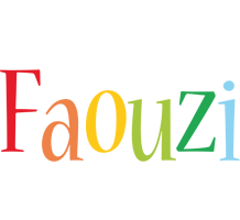 Faouzi birthday logo