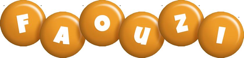 Faouzi candy-orange logo