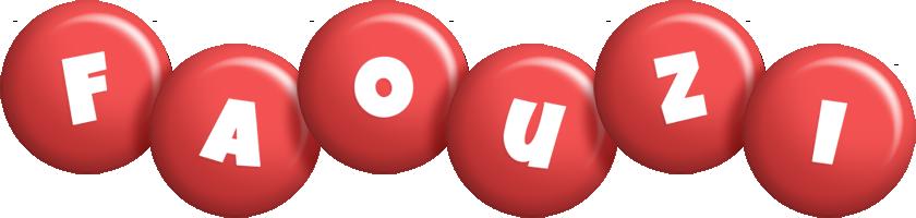 Faouzi candy-red logo