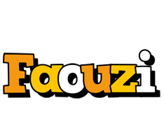 Faouzi cartoon logo