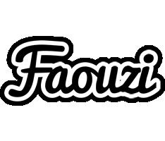 Faouzi chess logo