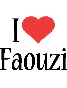 Faouzi i-love logo