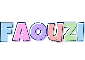Faouzi pastel logo