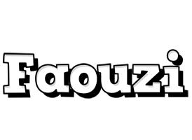 Faouzi snowing logo