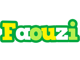 Faouzi soccer logo