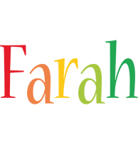 Farah birthday logo