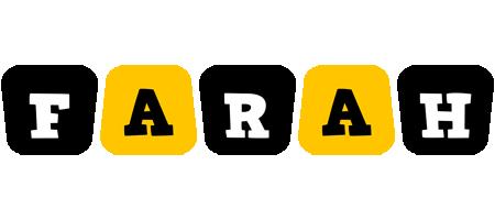 Farah boots logo