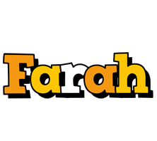 Farah cartoon logo