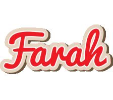 Farah chocolate logo