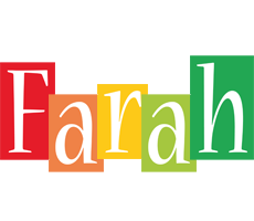 Farah colors logo