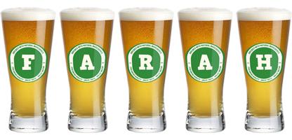 Farah lager logo