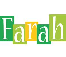 Farah lemonade logo