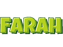 Farah summer logo