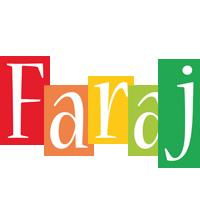Faraj colors logo