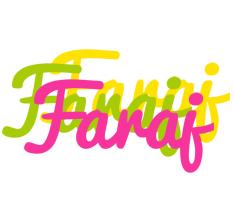 Faraj sweets logo