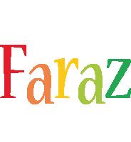 Faraz birthday logo