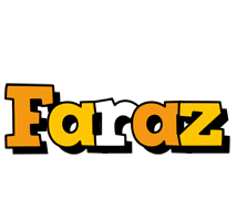 Faraz cartoon logo