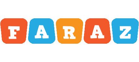 Faraz comics logo