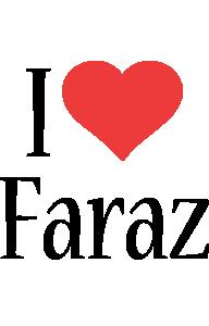 Faraz i-love logo
