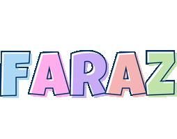 Faraz pastel logo