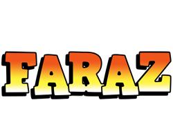 Faraz sunset logo