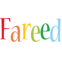 Fareed birthday logo