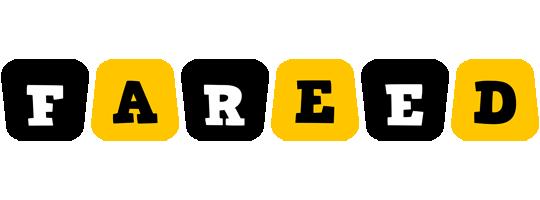 Fareed boots logo