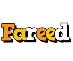 Fareed cartoon logo