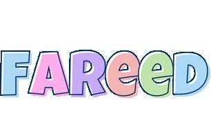 Fareed pastel logo