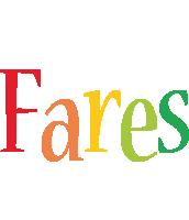 Fares birthday logo