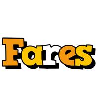 Fares cartoon logo