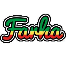 Farha african logo
