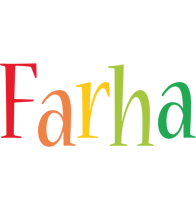 Farha birthday logo