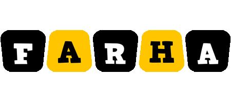 Farha boots logo