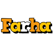 Farha cartoon logo