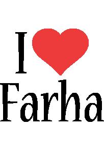 Farha i-love logo