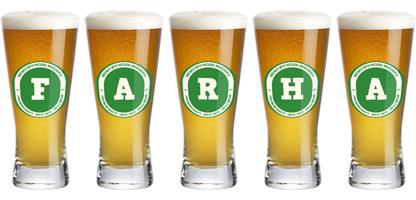 Farha lager logo