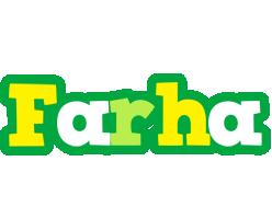 Farha soccer logo