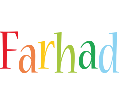 Farhad birthday logo