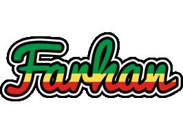 Farhan african logo