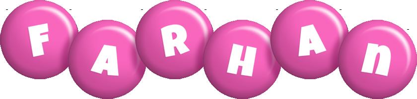 Farhan candy-pink logo