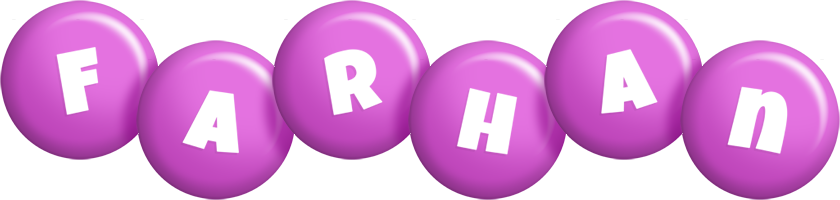 Farhan candy-purple logo
