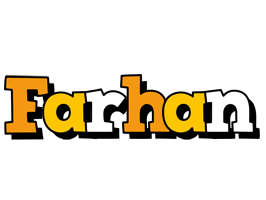 Farhan cartoon logo