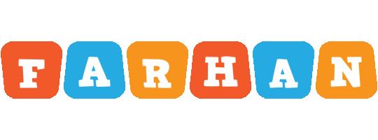 Farhan comics logo
