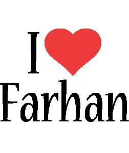 Farhan i-love logo